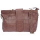 sac minima croco marron